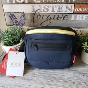 Hunter for Target Navy and Yellow Belt Bum Bag NWT